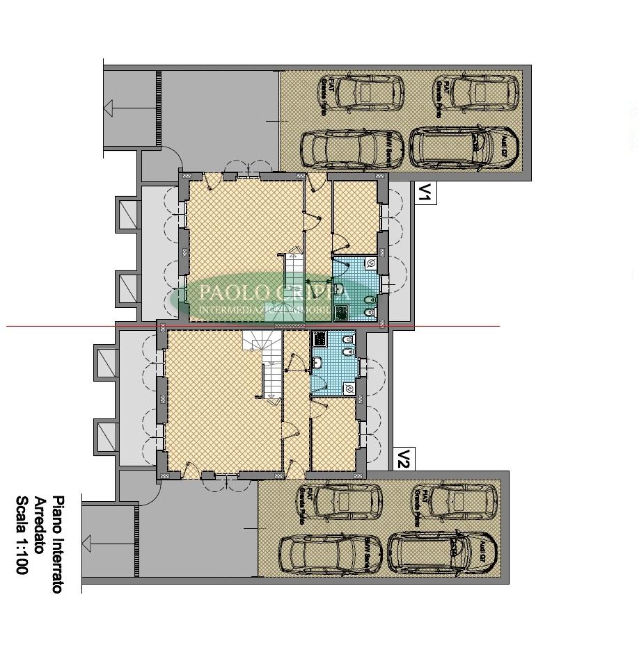 Vendita ampia villa bifamiliare a santa maria ho in for Piani di sauna seminterrato